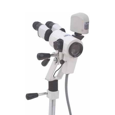 Colposcopio-Binocular-Variavel-com-Camera-e-Base-de-Chao-de-3-Rodizios-PE7000VRDC3
